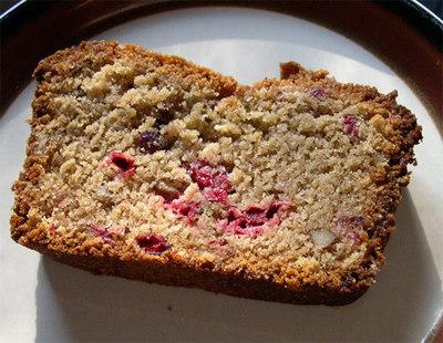 Cranberrywalnutbread