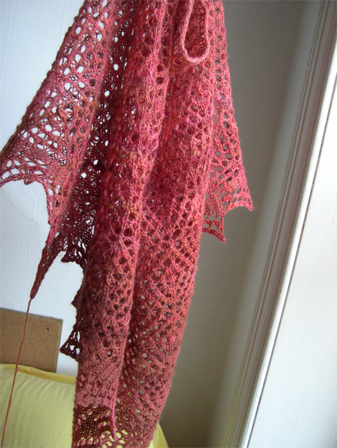 Diamond Fantasy Shawl